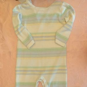 Baby boy sweater one piece
